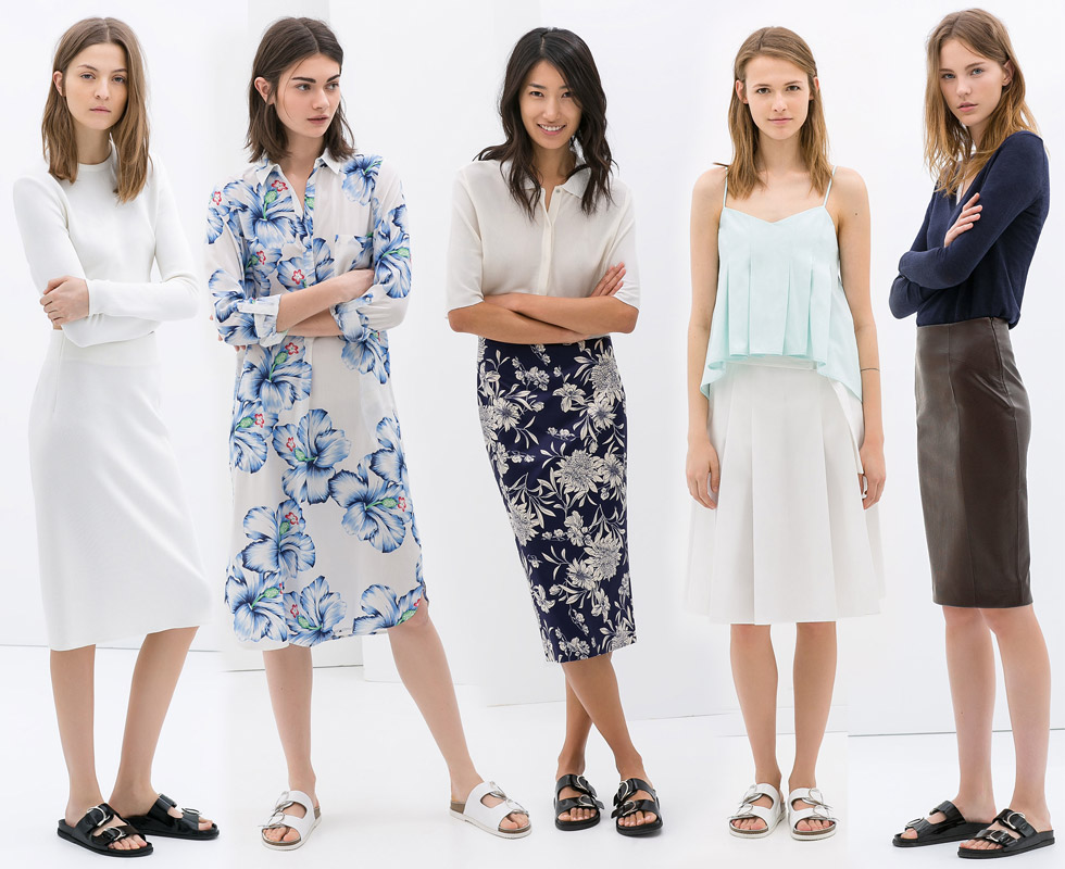 Birkenstocks with Skirts and Dresses