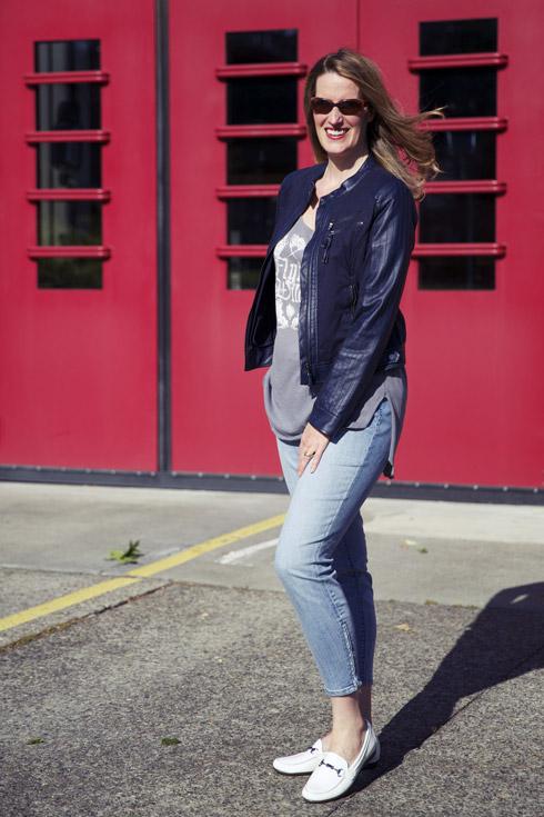 Bridget - Tee & Jacket