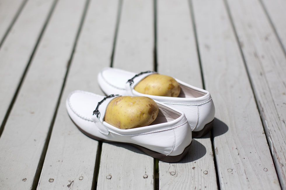 Potato Loafers - Back