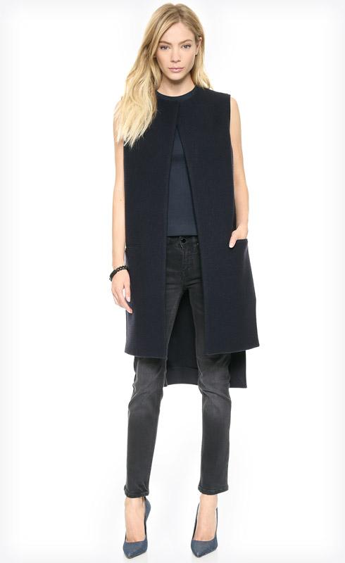 Victoria Beckham Sleeveless Coat Vest