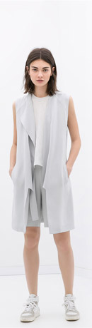 Zara Studio Loose Fit Waistcoat