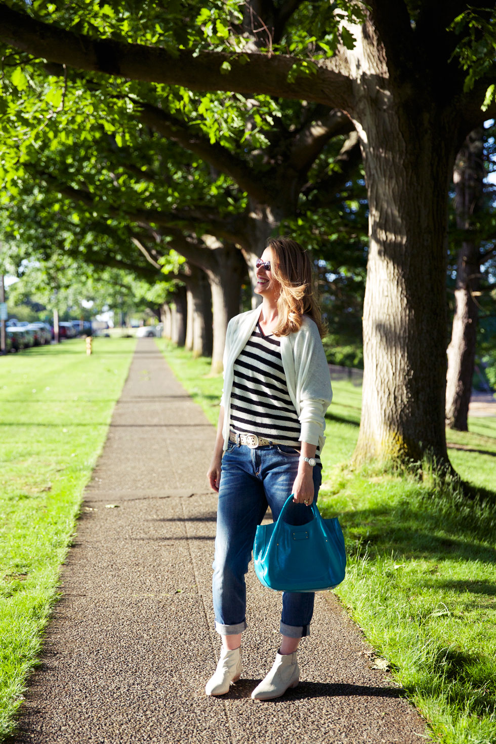 Blue Jeans - Treed Path