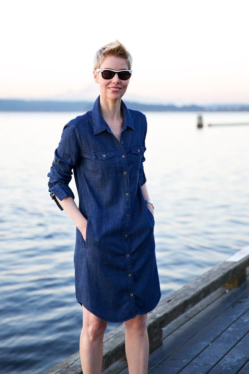 Denim Dress Closer