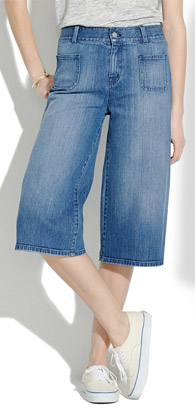 Madewell Culotte Jeans
