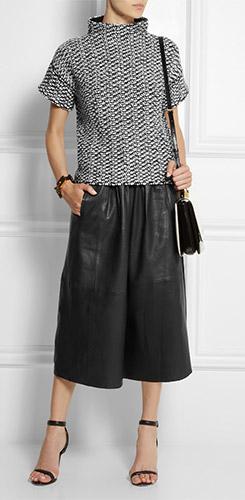 PAUL JOE Phuket Leather Culottes
