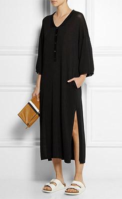 TOTEME Belize Knitted Jersey Midi Dress