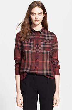 Burberry Brit Woven Check Shirt