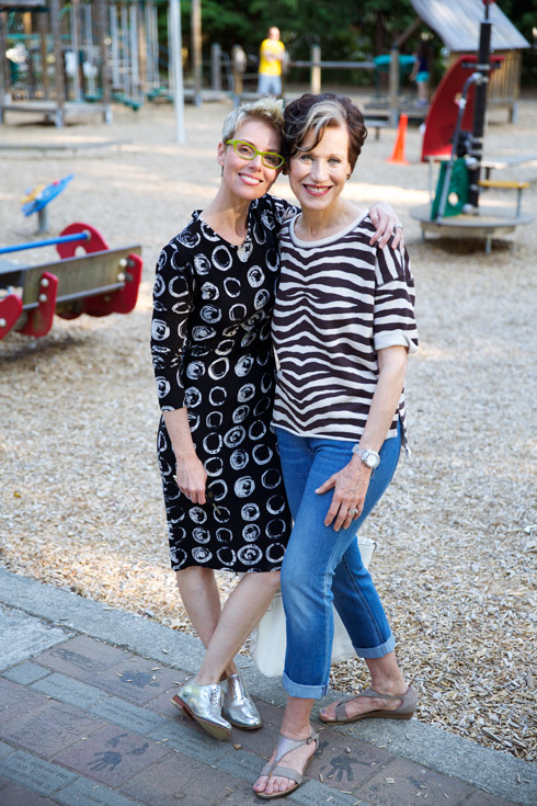 Casual Stripes - With Angie