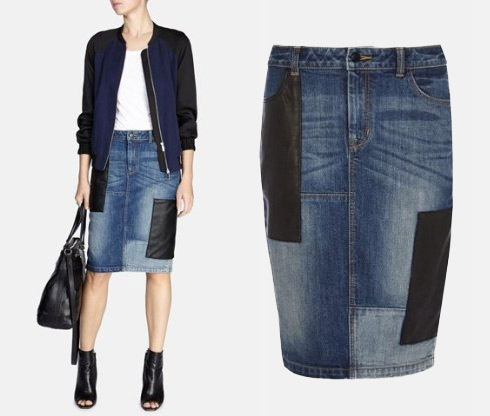 Denim Skirts Make a Fashionable Comeback - YLF