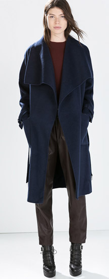 Zara Hand made Long Coat