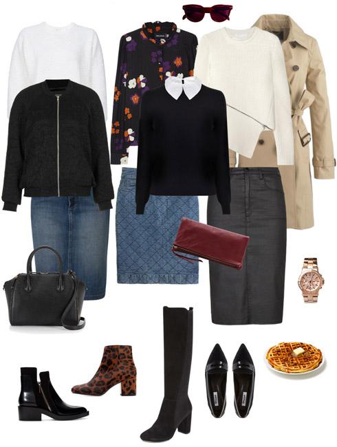Ensemble Style Advice - Denim Skirt Refresher