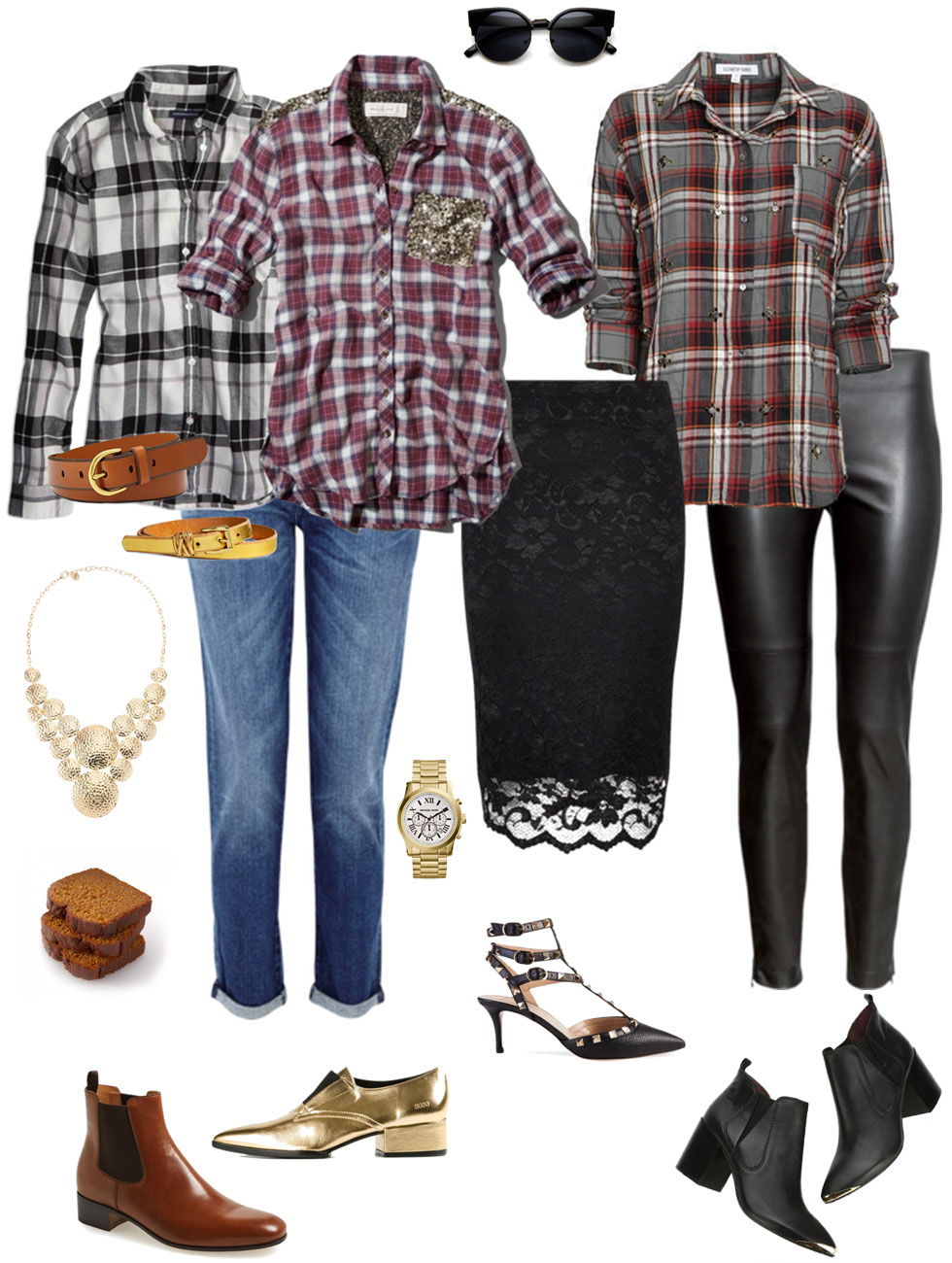 Plaid Shirts: Casual & Dressy