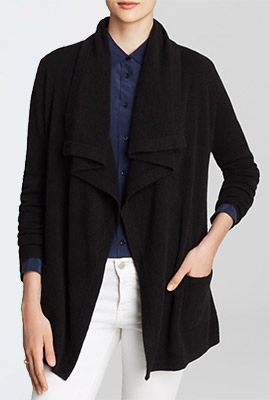 C by Bloomingdales Basic Cashmere Cardigan