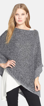 Eileen Fisher Luxe Sheen Poncho