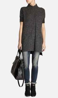 Karen Millen Tweed Tunic