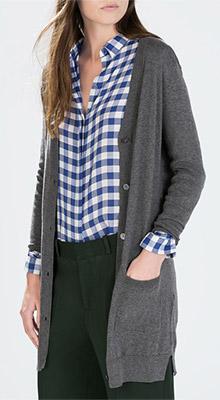 Zara Long Cardigan with Pockets