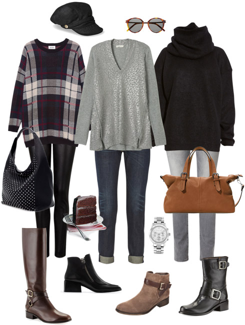Ensemble Style Advice - Mom on the Go Ensemble: The Statement Sweater