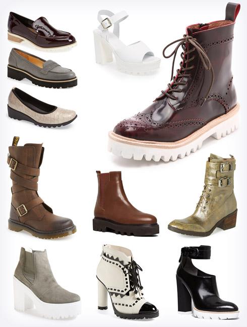 Fashion Trend - The Lug Sole Trend