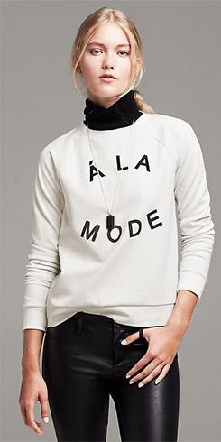 A La Mode Pullover