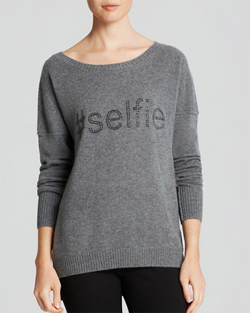 AQUA Cashmere Sweater