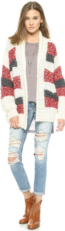 Mes Demoiselles Jimmy Long Cardigan