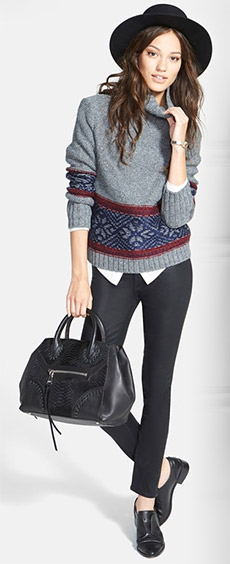 The Ongoing Fair Isle Sweater Trend - YLF