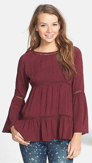 Haute Society Bell Sleeve Top
