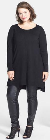 Eileen Fisher Merino Jersey Tunic Dress