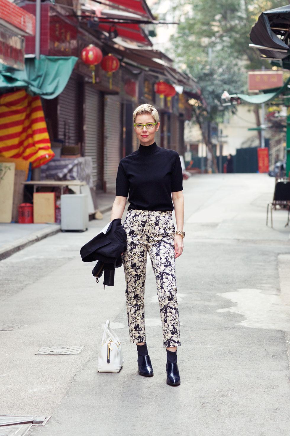 Floral Pants - Cat Street