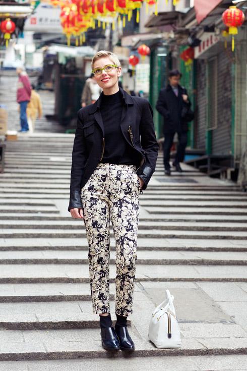 Floral Pants - Jacket Full