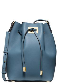 Michael Kors Large Miranda Leather Bucket Bag