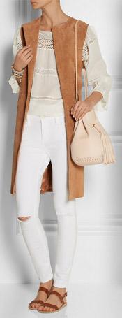 WENDY NICHOL Bullet Leather Bucket Bag