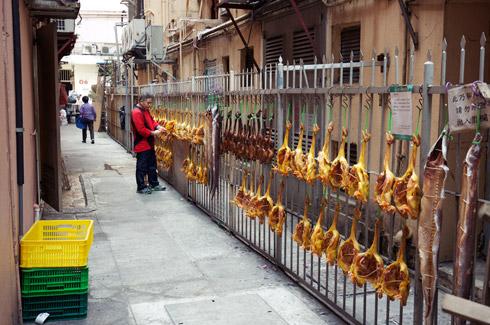 Wan Chai - Chickens