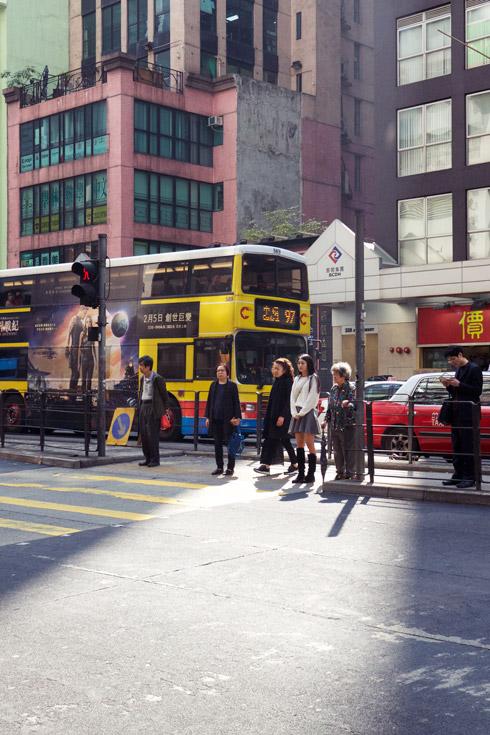 Wan Chai Crosswalk