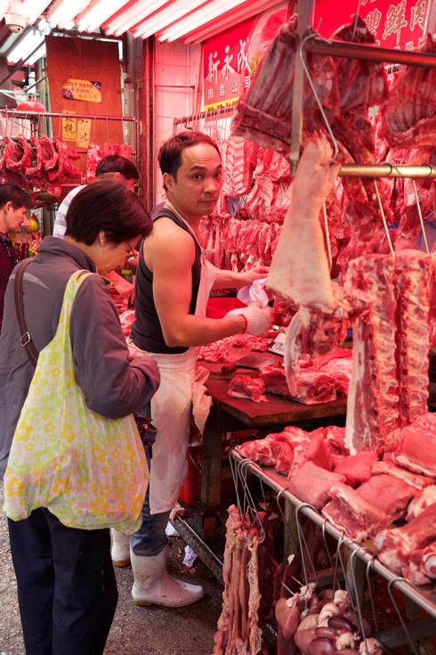 Wan Chai - Meat Market