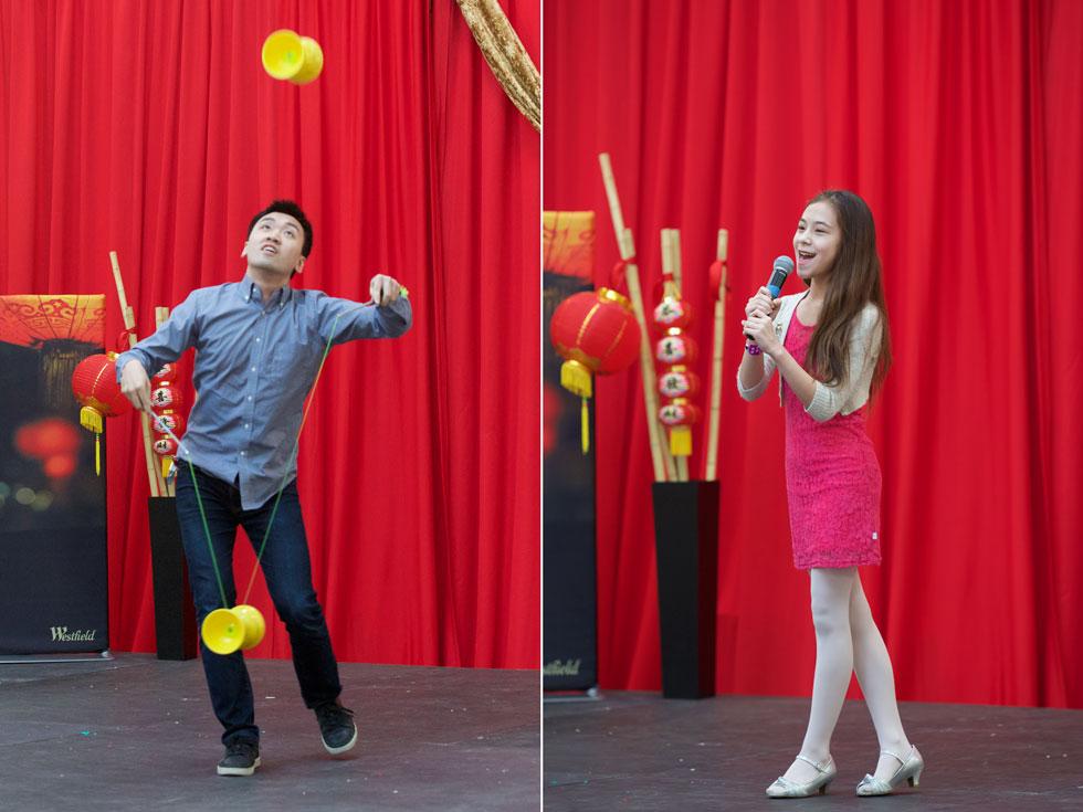 Chinese Yo Yo & Solo Singer
