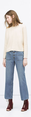 Zara Cap Sleeve Top
