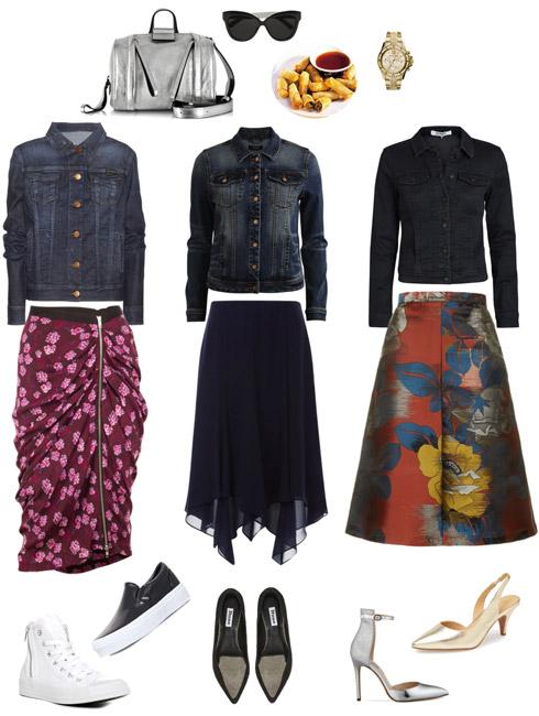 Ensemble Style Advice - Denim Jacket Burberry Style