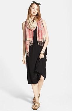 Madewell Silk Slipdress & Accessories