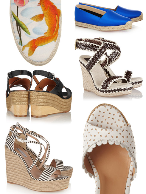 Fashion Trend - The Espadrille Trend