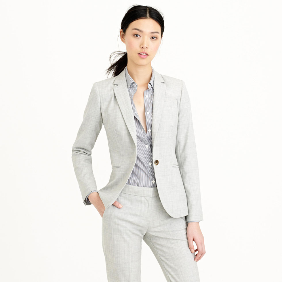 J.Crew 1035 Single-button Jacket in Super 120s Wool