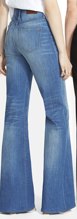 Madewell Flea Market Flare High Rise Jeans