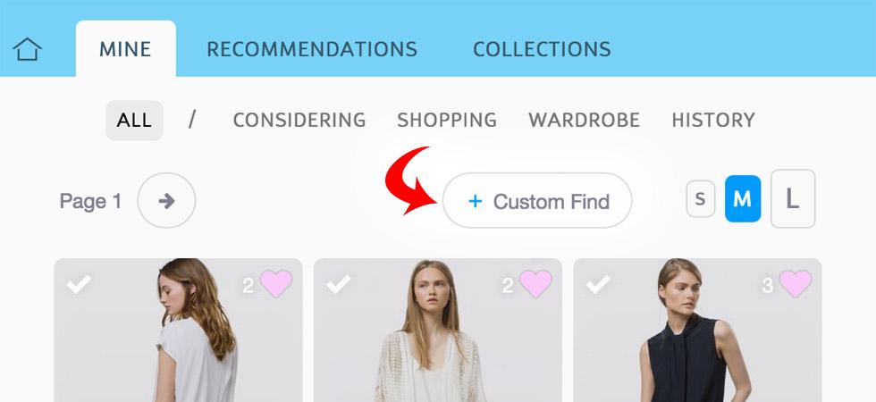Custom Find Button