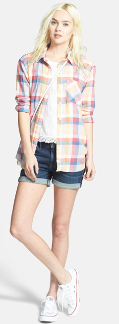 Treasure Bond Plaid Shirt
