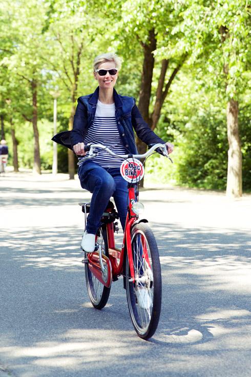 Angie Biking