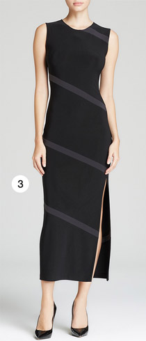 KAMALIKULTURE Dress Spiral Slit