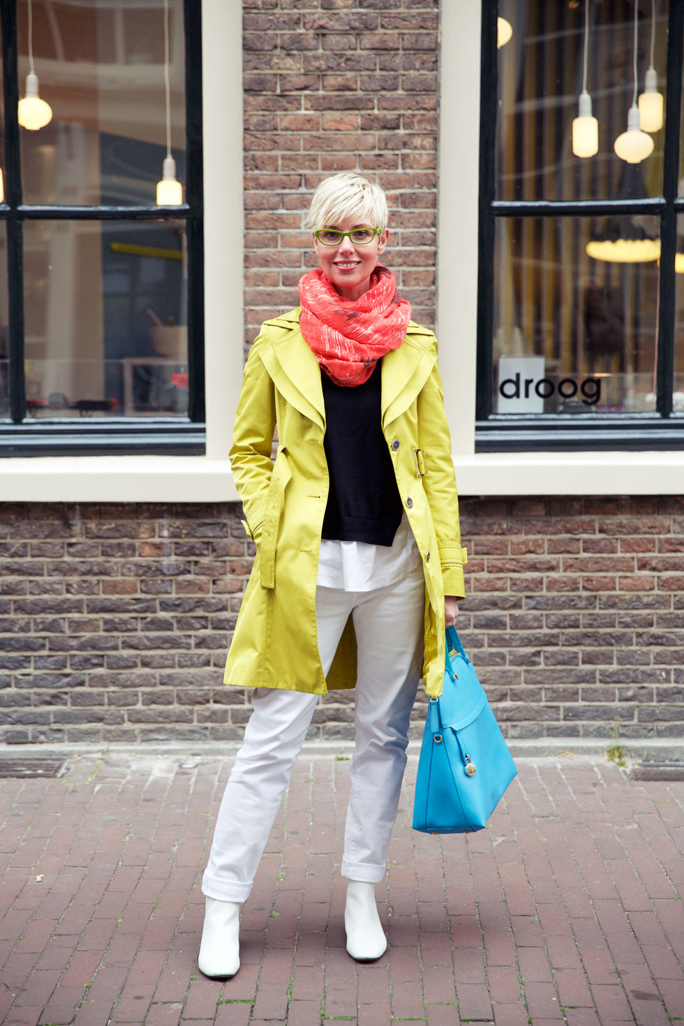 Trench & Scarf - Full