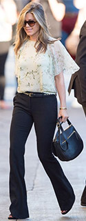 Three Trendy Blouses to Wear with Bootcut Trousers - YLF