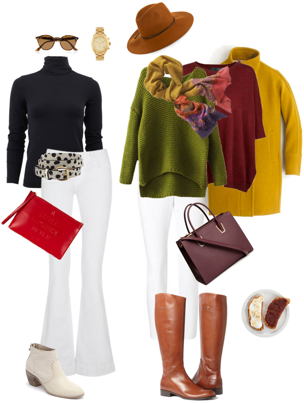 Ensemble: White Jeans into Fall