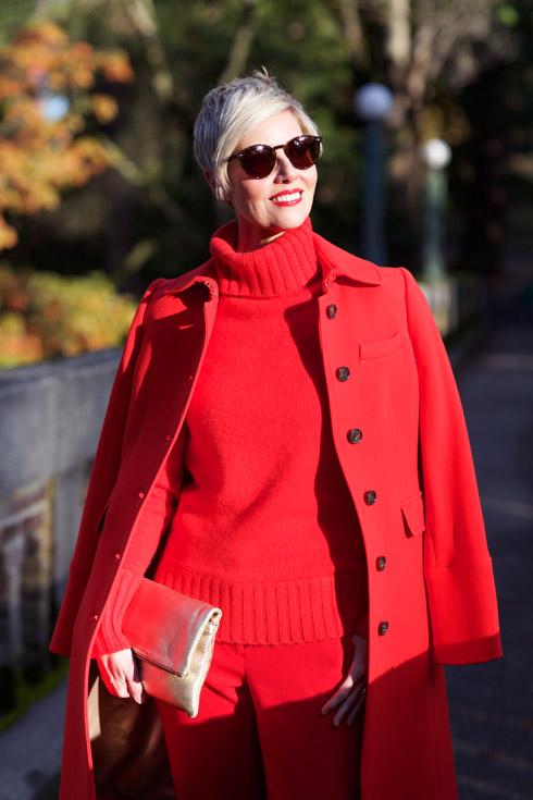 Coat Shoulders - Close